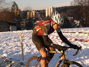 Gregor Menzel beim Cyclo Cross in Wangen 2008