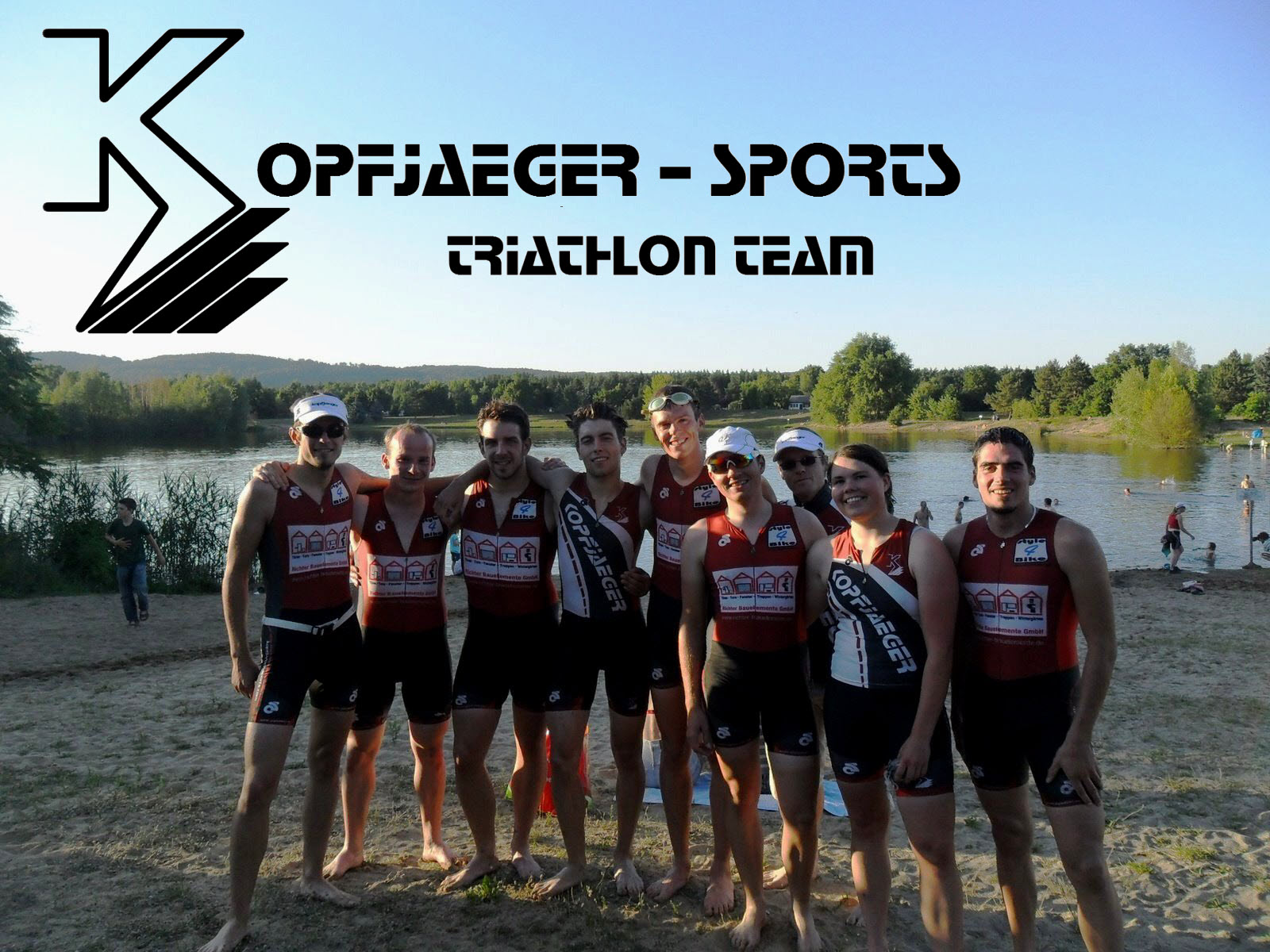 Die Triathleten des KOPFJAEGER-SPORTS 2012